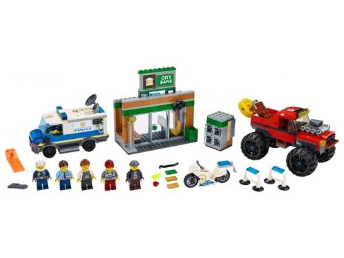 Конструктор LEGO City Ограбление полицейского монстр-трака 60245 (362 дет.), вид 3