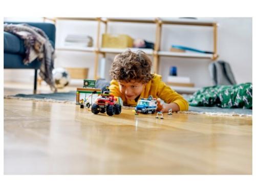 Конструктор LEGO City Ограбление полицейского монстр-трака 60245 (362 дет.), вид 5