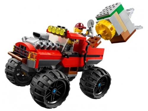 Конструктор LEGO City Ограбление полицейского монстр-трака 60245 (362 дет.), вид 15