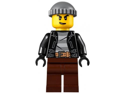 Конструктор LEGO City Ограбление полицейского монстр-трака 60245 (362 дет.), вид 28