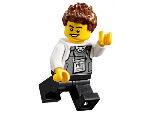 Конструктор LEGO City Ограбление полицейского монстр-трака 60245 (362 дет.), вид 31