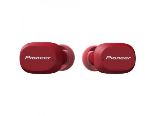 Bluetooth-гарнитура Pioneer SE-C5TW-R вкладыши, красные, вид 1