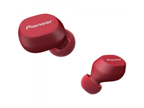 Bluetooth-гарнитура Pioneer SE-C5TW-R вкладыши, красные, вид 2