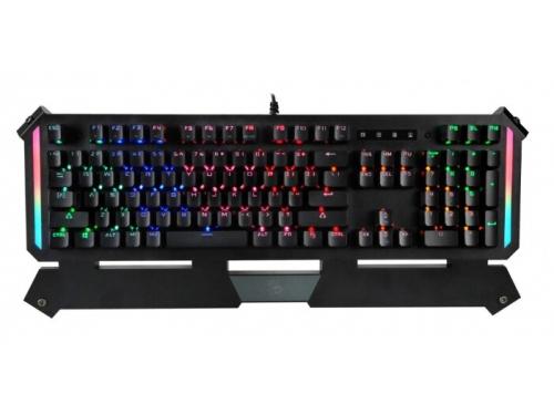 Клавиатура A4Tech Bloody B875N механическая USB for gamer LED (подставка для запястий) черная, вид 2