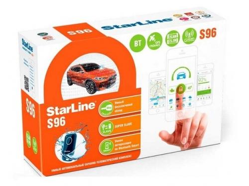 Автосигнализация StarLine S96 SL BT 2CAN 2LIN GSM GPS ГЛОНАСС, вид 1