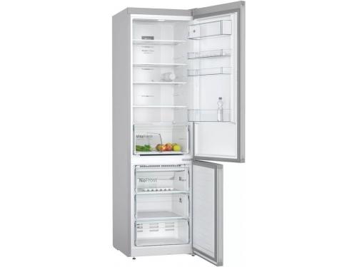 Холодильник Bosch KGN39VL25R, серебристый, вид 2
