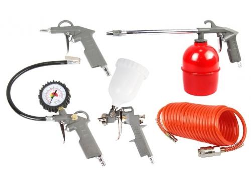 Пневмоинструмент FoxWeld AERO набор ( 5 предметов), вид 1