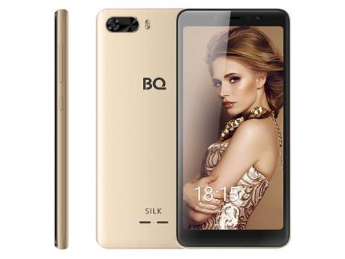 Смартфон BQ 5520L 1/8Gb , золотистый, вид 1