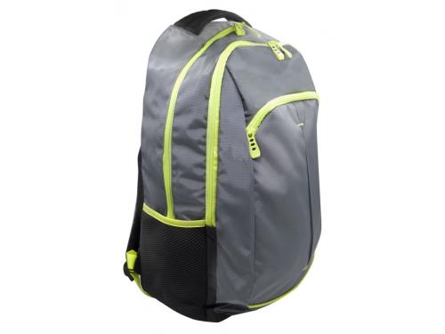 Рюкзак детский Silwerhof Power серый/зеленый неоновый, вид 2