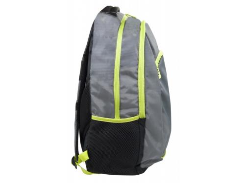 Рюкзак детский Silwerhof Power серый/зеленый неоновый, вид 3