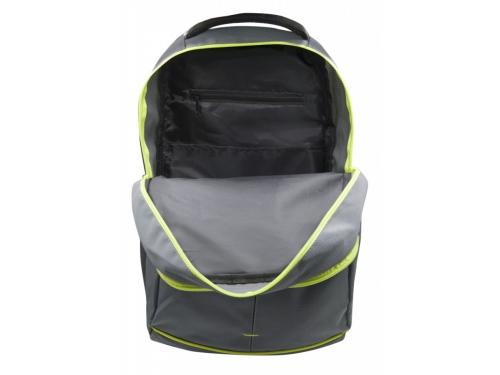 Рюкзак детский Silwerhof Power серый/зеленый неоновый, вид 4