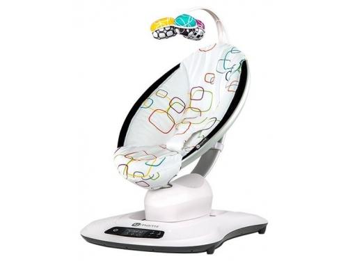Кресло-качалка 4Moms МамаРу 4.0 мульти плюш, вид 2