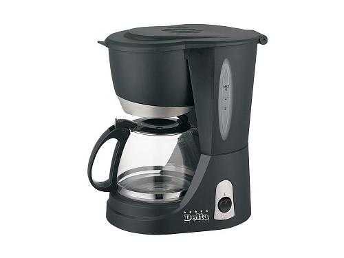 Кофеварка Delta DL-8137, черная, вид 1