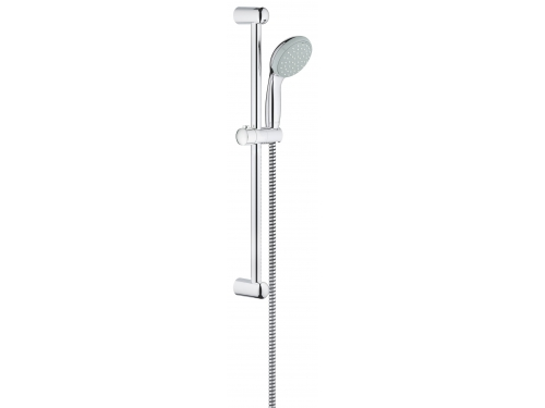 Душевой гарнитур Grohe 27598000 Tempesta Classic (ручной душ, штанга 600 мм, шланг 1750 мм), хром, вид 1