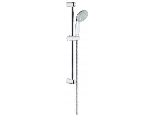Душевой гарнитур Grohe 27853000 Tempesta Classic (ручной душ, штанга 600 мм, шланг 1750 мм), хром (27853000), вид 1