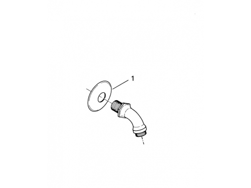 Душевой кронштейн Grohe 28429000 Relexa neutral 55 мм, хром (28429000), вид 2