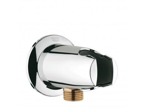 Подключение для душевого шланга Grohe 28406000 Movario с держателем, хром, вид 1