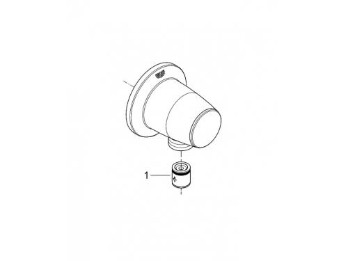 Подключение для душевого шланга Grohe 28405000 Movario, хром, вид 4