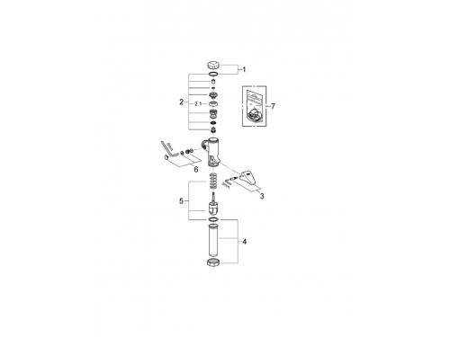 �������������� ������ ����� Grohe 37139000 Rondo (37139000), ��� 2