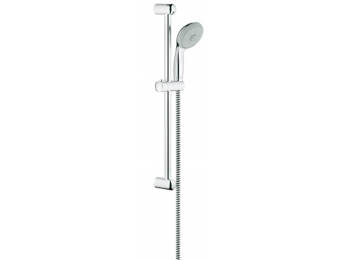 Душевой гарнитур Grohe 27795000 Tempesta Classic (ручной душ, штанга 600 мм, шланг 1750 мм), хром, вид 1