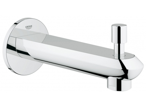 Излив для ванны Grohe 13279002 Eurodisc Cosmopolitan, настенный с переключателем ванна/душ, хром, вид 1