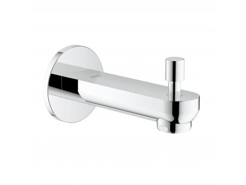 Излив для ванны Grohe 13262000 Eurosmart Cosmopolitan, настенный с переключателем ванна/душ, хром, вид 1