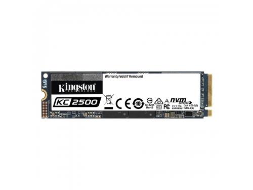 SSD-накопитель Kingston 1000GB M.2 2280 SKC2500M8/1000G, вид 1