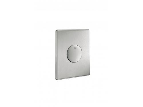 Панель слива для унитаза Grohe 38445SD0 Skate (1 режим смыва), нержавеющая сталь (38445SD0), вид 1