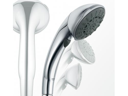 Ручной душ Grohe 28393000 Movario (5 режимов), хром, вид 2