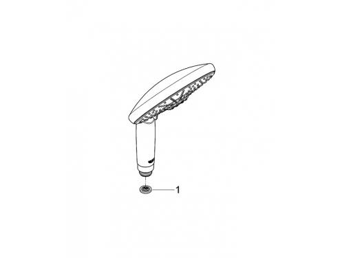 Ручной душ Grohe 28765000 Rainshower Classic (4 режима), хром (28765000), вид 2