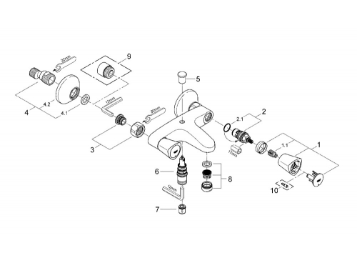 ��������� ��� ����� Grohe 25483001 Costa S, ����, ��� 2