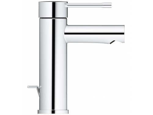 Смеситель для раковины Grohe 32898001 Essence+ с донным клапаном и низким изливом, хром (32898001), вид 2