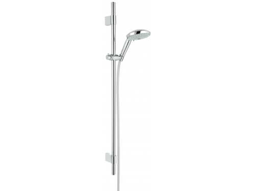 Душевой гарнитур Grohe 28769001 Rainshower Classic 130 (ручной душ, штанга 900 мм, шланг 1750 мм), хром, вид 1