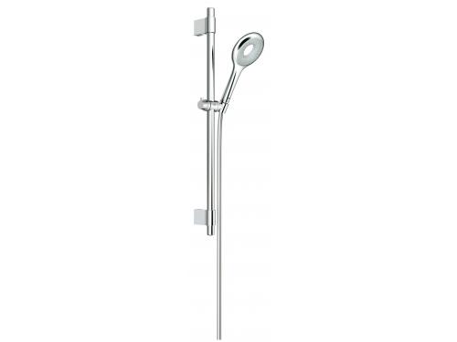 Душевой гарнитур Grohe 27529000 Rainshower Icon 100 (ручной душ, штанга 600 мм, шланг 1750 мм), хром, вид 1
