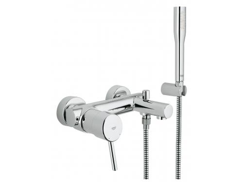 Смеситель для ванны Grohe 32212001 Concetto с душевым гарнитуром, хром, вид 1