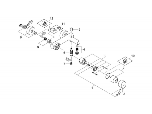��������� ��� ����� Grohe 32211001 Concetto, ���� (32211001), ��� 2