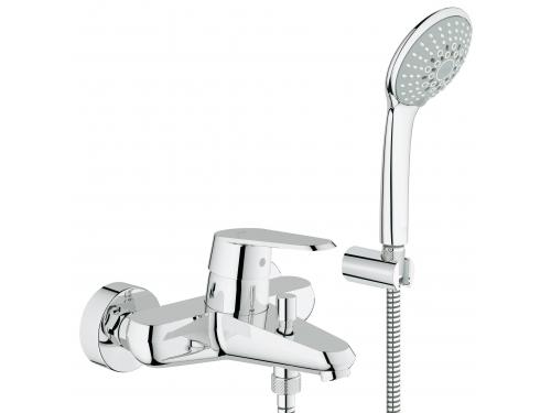 Смеситель для ванны Grohe 33395002 Eurodisc Cosmopolitan с душевым гарнитуром, хром, вид 1