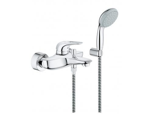 Смеситель для ванны Grohe 33592003 Eurostyle new с душевым набором, хром (33592003), вид 1