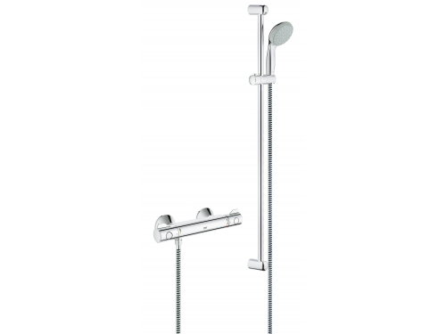 ��������� ��� ���� Grohe 34566000 Grohtherm 800 � ������� ���������� (������ 900 ��), ���� (34566000), ��� 1