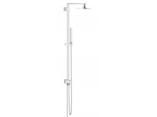Душевая система Grohe 27696000 Euphoria Cube, верхний и ручной душ, без смесителя, хром, вид 1