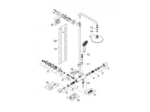 ������� ������� Grohe 27909000 Power&Soul, ����, ��� 5