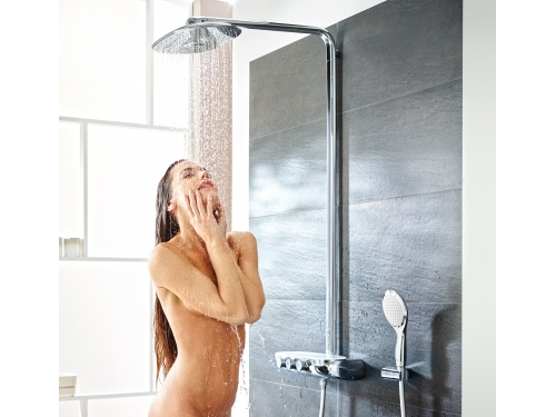 Душевая система Grohe 26250000 Rainshower SmartControl с верхним и ручным душем, хром (26250000), вид 2