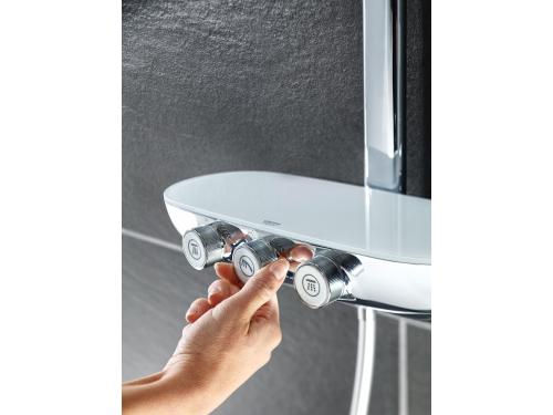 Душевая система Grohe 26250000 Rainshower SmartControl с верхним и ручным душем, хром (26250000), вид 4