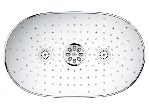 Душевая система Grohe 26250000 Rainshower SmartControl с верхним и ручным душем, хром (26250000), вид 6