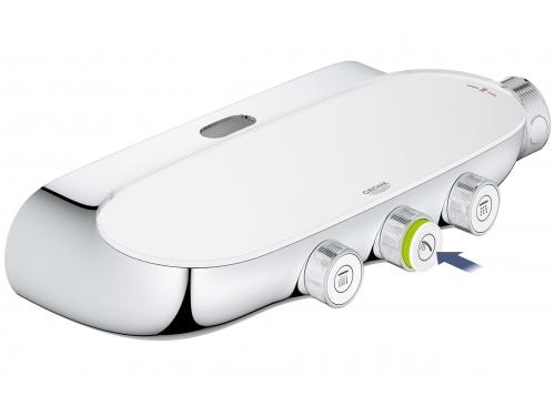Душевая система Grohe 26250000 Rainshower SmartControl с верхним и ручным душем, хром (26250000), вид 10
