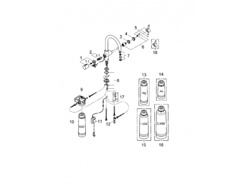 �������� ��������� Grohe 33249DC1 Blue (����������, C-�����), ���������� (33249DC1), ��� 2