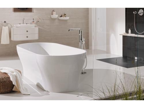 Смеситель для ванны Grohe 23491001 Essence+ с душевым гарнитуром, свободностоящий, хром, вид 3