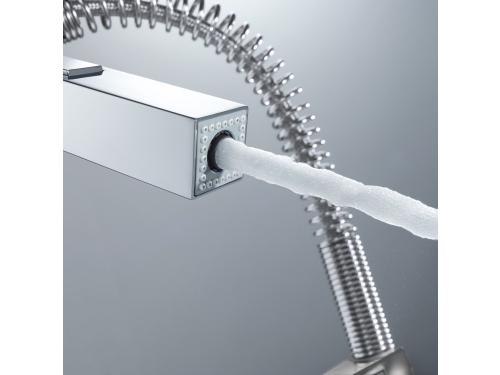 Кухонный смеситель Grohe 31395000 Eurocube профессиональный, хром (31395000), вид 5