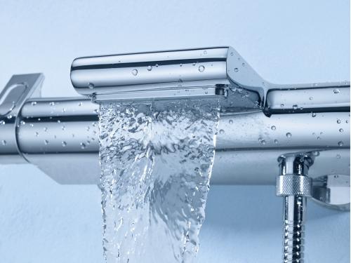 Термостат для ванны Grohe 34464001 Grohtherm 2000 с полочкой, хром, вид 4