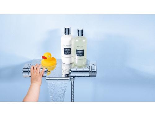 Термостат для ванны Grohe 34464001 Grohtherm 2000 с полочкой, хром, вид 5